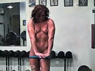 Muscled Small Tits Sport Gym