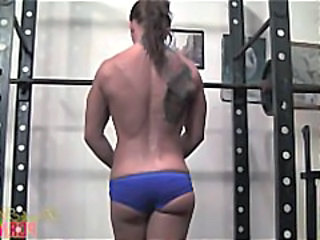 Ass Muscled Pornstar Solo Sport