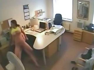 HiddenCam Office Voyeur Cheating Wife