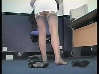 Legs Mature Office Secretary Stockings Corset Stockings Mature Stockings