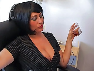 Amazing  Natural Office Secretary Milf Office Office Milf