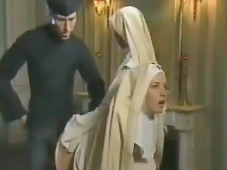Clothed Nun Threesome Uniform Vintage Punish Crazy