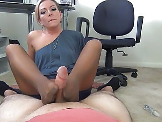 Amazing Feet Fetish Stockings Footjob Foot Stockings