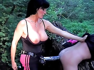 Brunette Strapon Mistress German