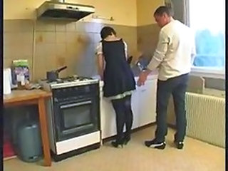 French Kitchen Maid Uniform French Anal French + Maid Kitchen Sex Maid + Anal French