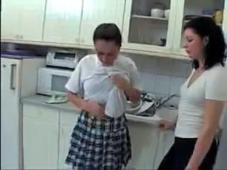 Kitchen Spanking