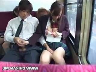 Asian Bus School Upskirt Handjob Asian Upskirt Schoolgirl Forced School Bus Bus + Asian