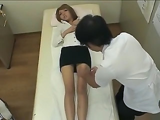 Asian HiddenCam Legs Massage Teen Foot Massage Asian