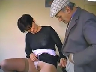 French Handjob Old and Young Stockings Old And Young Stockings French Waitress