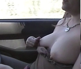 Amateur Car Nipples  Tits Nipple Car Tits Amateur