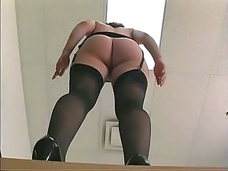 Ass Office Secretary Stockings Stockings