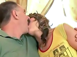 Daddy Daughter Kissing Old and Young Teen Grandpa Old And Young