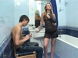 Bathroom Fishnet Russian Teen Bathroom Teen Fishnet Bathroom Russian Teen Teen Bathroom Teen Russian