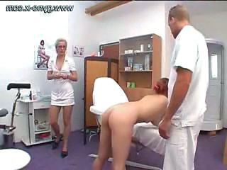 Doctor Nurse Uniform Gyno Milk