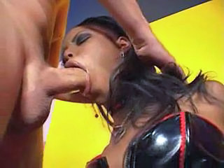 Deepthroat Ebony Latex