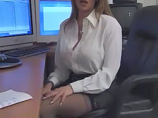 Amazing  Office Secretary Stockings