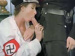 Army Blowjob Clothed Uniform Vintage
