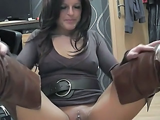 Amateur Amazing European German  Piercing Solo Masturbating Amateur Amateur