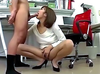 Asian  Blowjob Office Panty Pantyhose Secretary Blowjob Big Cock Uncle Pantyhose Nylon Panty Asian Big Cock Asian Big Cock Blowjob