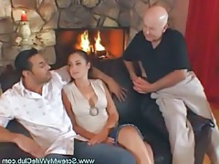 Old and Young Threesome Wife Old And Young Young Housewife Housewife Wife Young