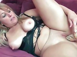 Insertion Blonde Mature Insertion Mature Pussy