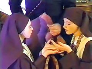 Nun Threesome Uniform Vintage Wild