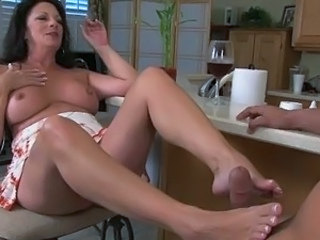 Feet Fetish Mature Footjob Foot