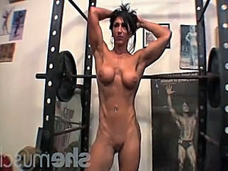 Muscled Sport Gym