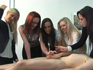 Handjob Office Cfnm Handjob