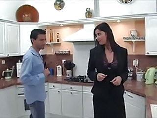 European French Kitchen  French Milf European French