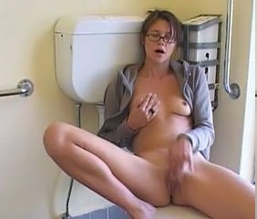 Cute Glasses Masturbating Solo Teen Toilet Cute Ass Cute Masturbating Cute Brunette