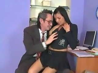 Amazing Daddy Old and Young Skirt Teacher Teen Teen Daddy Dress Daddy Old And Young Dad Teen Teacher Teen