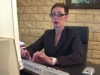 Glasses Mature Office Secretary Mature Ass Glasses Mature