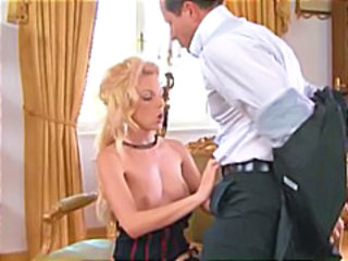 Corset European Handjob  Blonde Mom Corset Milf Ass European