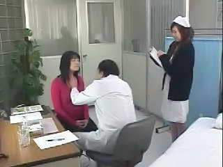 Asian Doctor Nurse Threesome Uniform Nurse Asian