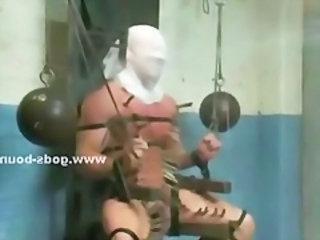 Gay Tied Mask Forced