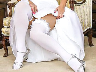 Bride Legs Stockings Stockings
