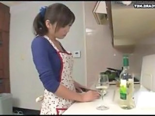 Asian Drunk Japanese Kitchen Wife Japanese Wife Kitchen Housewife Japanese Housewife Housewife Wife Japanese