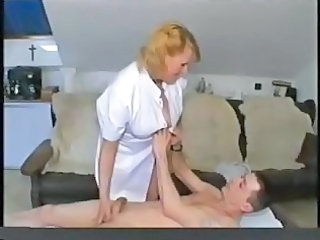Handjob Nurse Old and Young Uniform Blonde Chubby Chubby Blonde Old And Young Granny Young Granny Blonde Nurse Young