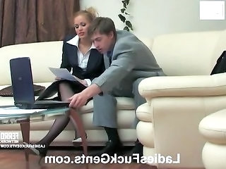 Office Teen Office Teen Strapon Teen
