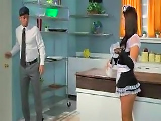Anal Ass Kitchen Maid Uniform Kitchen Sex Maid + Anal Maid Ass