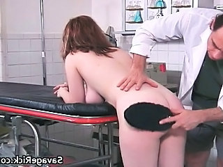 Ass Cute Doctor Spanking Cute Ass Cute Brunette
