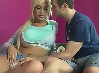 Blonde Shemale Blonde Anal Tranny
