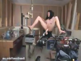Brunette Machine Teen