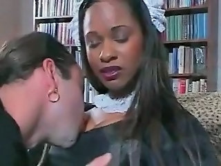 Ebony Maid Teen Uniform Maid + Teen Teen Ebony Ebony Teen