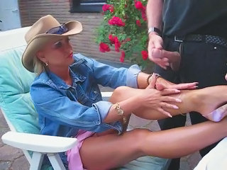 Cumshot Feet Fetish Handjob Legs High Heels Handjob Cumshot