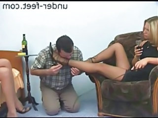 Femdom Feet Fetish Legs Pantyhose Slave Pantyhose Stockings Slave Submissive