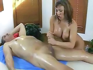 Handjob Massage  Oiled Massage Milf Massage Oiled Oiled Ass Milf Ass