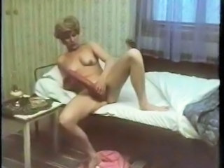 Dildo European Masturbating Vintage Swedish