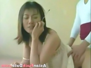 Asian Chinese Doggystyle Wife Chinese Housewife